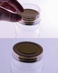 ガラス瓶の再利用